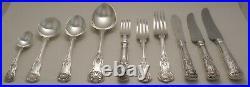 KINGS Design JAMES DIXON Sheffield Silver Service 79 Piece Canteen of Cutlery