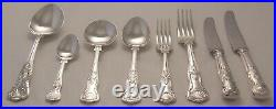 KINGS Design OSBORNE Sheffield Silver Service 44 Piece Canteen of Cutlery
