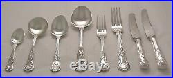 KINGS Design SMITH SEYMOUR Sheffield Silver Service 44 Piece Canteen of Cutlery