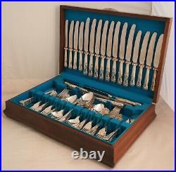 KINGS Pattern SLACK & BARLOW Sheffield Silver Plated 71 Piece Canteen of Cutlery
