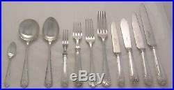 LOUIS XVI Design ROBERTS & BELK Silver Service 69 Piece Canteen of Cutlery