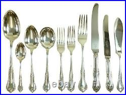 MAPPIN & WEBB Cutlery CHESTERFIELD Pattern 61 Piece Canteen for 6
