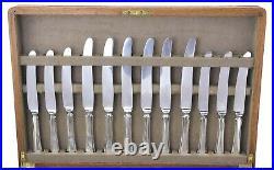 MAPPIN & WEBB Cutlery PEMBURY Pattern 47 Piece Canteen for 6