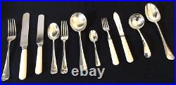 Mappin & Webb Oak Canteen of Cutlery 57 Piece Princes Silver Plate Superb