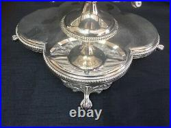 Mappin & Webb Princes Plate 20fh Century Table Centre Piece/Tazza