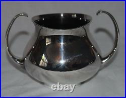 Mappin and Webb / Elkington 5 Piece Silver Plate Tea Set Designed Eric Clements