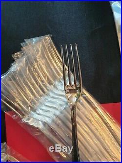 Ménagère America Superbe 139 Pieces Christofle Franc Silver Plated Flatware Set
