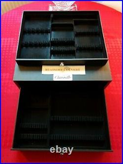 Ménagère Chinon 62 Pieces Superbe Christofle France Silver Plated Flatware Set