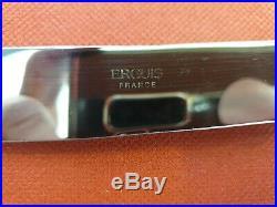 Ménagère Ercuis Cîteaux 52 Pièces Métal Argenté Silver Plated Flatware Set