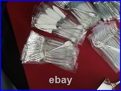 Ménagère Marly 140 Pieces Super Christofle Silver Plated Flatware Set