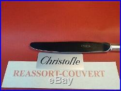 Ménagère Perles Superbe 49 Pieces Christofle Silver Plated Flatware Set N2