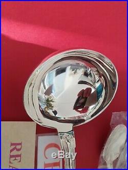 Ménagère Port Royal Neuve 49 Pieces Christofle Silver Plated Flatware Set