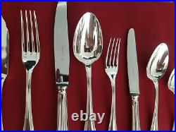 Ménagère Spatours 140 Pieces Super Christofle Silver Plated Flatware Set