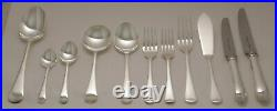 OLD ENGLISH By DAVENPORT & SULLIVAN Silver Service 124 Piece Canteen of Cutlery
