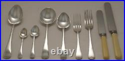 OLD ENGLISH Design GROVES & SONS LTD Silver Service 55 Piece Canteen of Cutlery