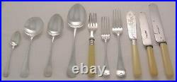 OLD ENGLISH Design HAMMOND CREAKE CO Silver Service 62 Piece Canteen of Cutlery