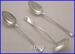 OLD ENGLISH Design HARRODS LIMITED Silver Service 96 Piece Canteen of Cutlery