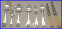 OLD ENGLISH Design ROBERTS & BELK LTD Silver Service 44 Piece Canteen of Cutlery