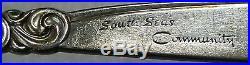 ONEIDA Silver Community SOUTH SEAS silverplate 72-piece SET SERVICE for 12