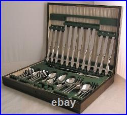 ORANGE BLOSSOM Design ANGORA CO LTD Silver Service 53 Piece Canteen of Cutlery