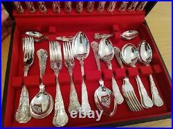 Osborne Silver Plated 44 Piece Cutlery Set (EPNS A1)