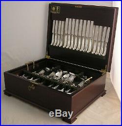 PISTOL RATTAIL Design GEORGE BUTLER Silver Service 73 Piece Canteen of Cutlery