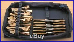 PISTOL RATTAIL Design ROBERTS & BELK Silver Service 60 Piece Canteen of Cutlery