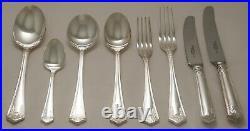 POMPADOUR Design ARTHUR PRICE Silver Service 44 Piece Canteen of Cutlery