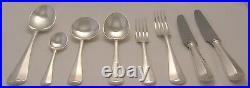 RATTAIL Design GEORGE BUTLER KITEMARK Silver Service 60 Piece Canteen of Cutlery