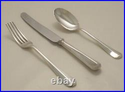 RATTAIL Design HARRISON FISHER & CO Silver Service 127 Piece Canteen of Cutlery