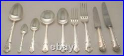 RITZ Design GEORGE BUTLER Sheffield Silver Service 68 Piece Canteen of Cutlery
