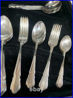 Rare George Butler 60 Piece Canteen Of Cutlery Ashberry Collection