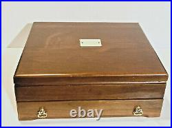 Reed & Barton Silverplate 56 Piece 8 Place Settings of Emperor Flatware, ca 1969