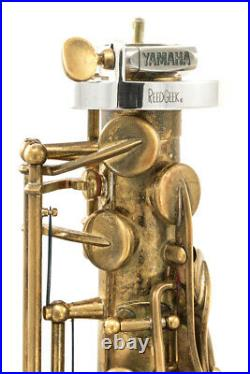 Reed Geek Klangbogen One Piece Hand Polished Heavy Silver-Plate for Saxophones