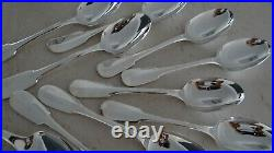 Set 60 pieces Christofle CLUNY Silver plated Never used MINT condition