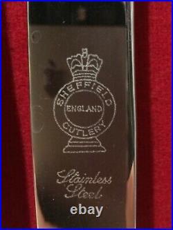 Sheffield EPNS A1, 44 Piece Cutlery Set