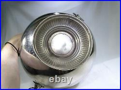 Silver Plated Lions Head Ring Handle Large Bowl Gryffindor Spell Cauldron TF