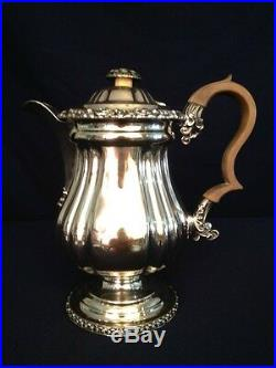 Silver Plated Tea and Coffee Set (4 Pieces)