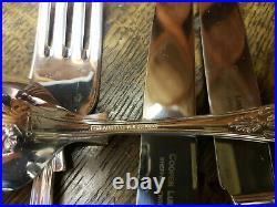 Vintage 44 Piece Canteen EPNS A1 Kings Pattern Cutlery by Cooper Ludlam 1987