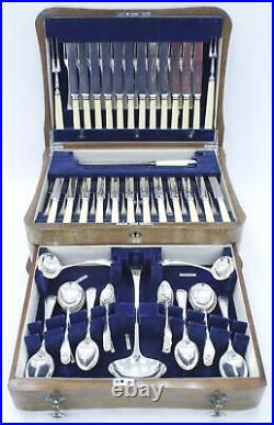 Vintage ARTHUR PRICE & CO 108 Piece EPNS Cutlery Service for 12 with Canteen N22
