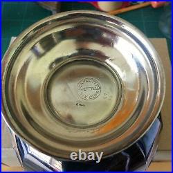 Vintage EPNS Silver Plated Coffee & Tea Set 4 piece Sheffield England