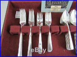 Vintage Oneida Ltd. 1881 Rogers 74 Piece Silverware Set