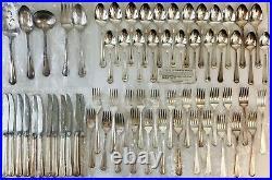 Vintage Oneida Silverplate Clairhill Fairhill Flatware 65 Pieces NEW & UNUSED