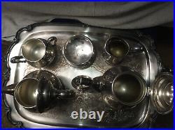 Vintage Remembrance 1847 Rogers Bros Silver Plated Tea Set 6 Piece International