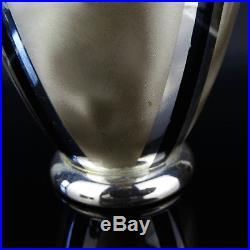 WMF Ikora Metall Vase Silver Plated 50er Jahre German Mid Century Centrepiece