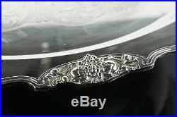 Wallace Silver-plate Harvest 15 Piece Punch Bowl Set (Bowl, Tray, Ladle, Cups)