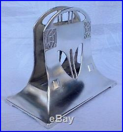 Wonderful WMF Art Nouveau Complete Silver DESK SET 8 Pieces No 120, circa 1910
